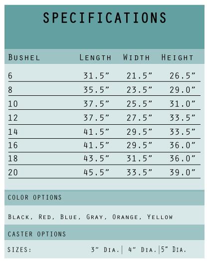 SPECIFICATIONS-CHART---Vinyl-Linen-Carts